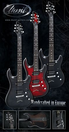 Musil-Vision Deluxe String Thru Series Music Instruments, Guitar, Guitars, Musical Instruments
