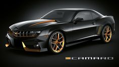 VR Camaro - in black