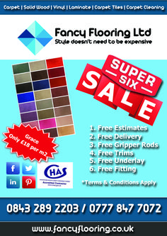 Fancy Flooring's Super 6 - Day 4 - Grace