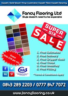 Fancy Flooring's Super 6 - Day 4 - Grace