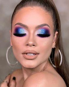 Makeup Eye Looks, Beautiful Eye Makeup, Eye Makeup Art, Glam Makeup, Makeup Geek, Makeup Inspo, Eyeshadow Makeup, Makeup Inspiration, Creative Eye Makeup