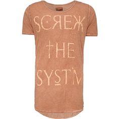 Cooles orangefarbenes #T-Shirt von #Review. Mit diesem lässigen #Shirt ist ein stylischer #Auftritt garantiert. ♥ ab 19,95 €