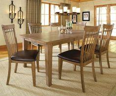 Found it at Wayfair - Oak Grove 7 Piece Dining Set 7 Piece Dining Set, Dining Table In Kitchen, Dining Room Sets, Hillsdale Furniture, Dining Furniture, Table And Chairs, Dining Chairs, Oak Grove, House