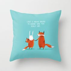 Acceptance Throw Pillow by Dale Keys