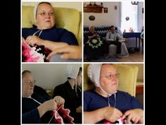FREE VIDEO TUTORIAL ~ My version of Breaking Amish's Mary's Afghan - Right Handed