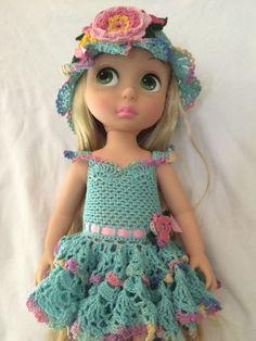 https://flic.kr/p/wfbPbC | Rapunzel's new dress | www.etsy.com/shop/prettydollstitches?ref=l2-shopheader-name