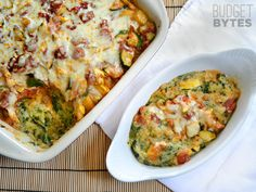Vegetable Polenta Casserole - Budget Bytes