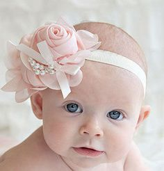Cheap photography babies accessories, Buy Quality photography headband directly from China photography kids Suppliers: Modern 2015 Rhinestone Pearl Flower Baby Headband Hairband Photography For kids hair accessories Rose Headband, Baby Girl Headbands, Newborn Headbands, Elastic Headbands, Bow Hairband, Pearl Headband, Headband Hair, Flower Headbands, Fashion Headbands