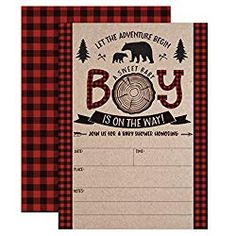 Lumberjack Baby Shower Invitations, Boy Baby Shower Invitations, Mama Bear Baby Shower Invites, Woodland Baby Shower Invitations, 20 Fill in Invitations and Envelopes * Check out the image by visiting the link. (This is an affiliate link) Teddy Bear Baby Shower, Baby Boy Shower, Baby Shower Invitations For Boys, Baby Shower Printables, Baby Shower Diapers, Woodland Baby, Baby Shower Parties, Baby Shower Decorations, Invites