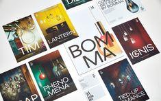 Bomma Lighting - glass manufacturer  - printed matter