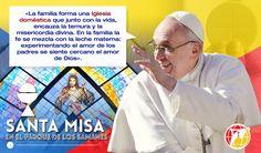 El mensaje del Papa Francisco durante la Santa Misa en Guayaquil, va dirigido a las familias. #elmejorvinoestaporvenir