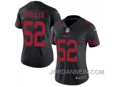 http://www.jordannew.com/womens-nike-san-francisco-49ers-52-patrick-willis-black-stitched-nfl-limited-rush-jersey-authentic.html WOMEN'S NIKE SAN FRANCISCO 49ERS #52 PATRICK WILLIS BLACK STITCHED NFL LIMITED RUSH JERSEY FOR SALE Only $23.00 , Free Shipping!