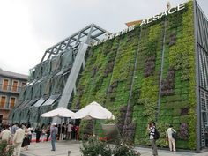 UBPA - Alsace CaseHaven't heard of this city in France before, but I like the large exterior green wall and the unique operable glass facade by tonylaw, via Flickr