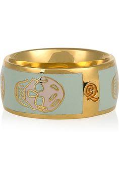 Alexander McQueen ring. NEED.