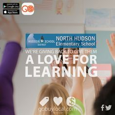 We're #givingback to #support #NorthHudsonElementary students' #love for #learning!