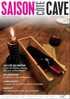 Le magazine Saison Côté Cave est sorti