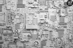 Circuit board city. Squid said it a long time ago and I looked at her weird. What the hell was I thinking?