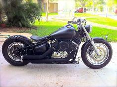 Yamaha v-star   Bobber Inspiration - Bobbers and Custom Motorcycles October 2014