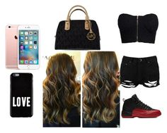 """""""gang meeting"""" by pettyallthe on Polyvore featuring beauty, NLY Trend, Boohoo, Michael Kors and Givenchy"""