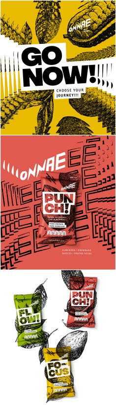 Brand Redesign for Healthy Functional Mini Meals from Mexico Design Agency: Grupo W Brand / Project Name: Onnae Brand Redesign Location: Mexico Category: #Snacks #Food World Brand & Packaging Design Society