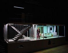 Stage design by Sebastian Hannak for Arabian Nights, Opera in Halle, Germany Set Theatre, Theater, Set Design Theatre, Stage Design, Theatre Stage, Scenography Theatre, Stage Set, Scenic Design, Media Design