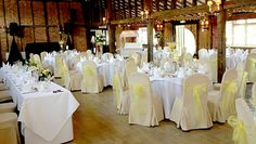 By Ye Olde Plough House @YeOldePlough We are pleased to announce, we are now offering white chair covers at the cost of £1.50per chair, £3.00 including a sash. Book at our Wedding Fayre on Sunday 27th October for reduced rate of £2.00 per cover including a sash of your choice! (Please note this is only for Weddings at Ye Olde Plough House) http://www.yeoldeploughhouse.co.uk/