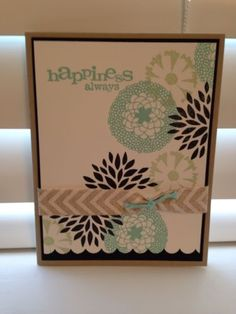 Stampin Up Petal Parade Card Kit