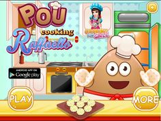 Pou Games - Pou Cooking Raffaello