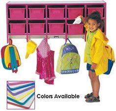 preschool cubbies - Google Search Preschool Cubbies, Backpack Storage, Church Crafts, Childcare, Google Search, Color, Child Care, Colour, Parenting