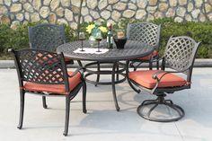 Gather Craft Castle Rock 5 Piece Outdoor Dining Set Homemakers Furniture