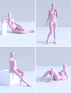 Graceful Poses for Genesis 3 Female Models and Software by Daz Female Pose Reference, Pose Reference Photo, Figure Drawing Reference, Body Reference, Art Reference Poses, Anatomy Reference, Reference Photos For Artists, Drawing Body Poses, Gesture Drawing Poses
