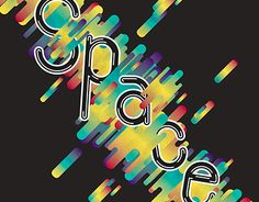 """Check out new work on my @Behance portfolio: """"Space Type"""" http://be.net/gallery/31562047/Space-Type"""