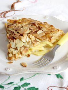 tarte de maçã folhada