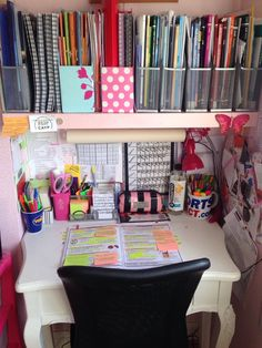 "studytodaysmiletomorrow: ""For the anon who asked to see my study area, here it is :) It is quite small and I wish it was slightly bigger but I still manage  """