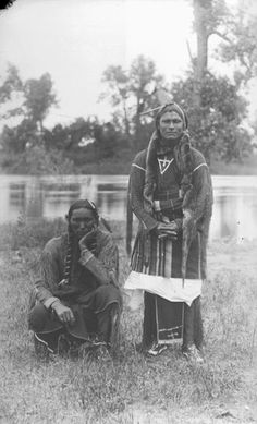 Kiowa men circa maybe late 1800's
