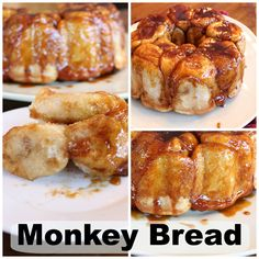 Monkey bread. With yummy caramel sauce! Easy to make. Using Rhodes rolls and butterscotch pudding.