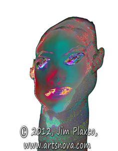 Electra digital art