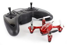 Hubsan X4 H107C 4 Channel 24GHz RC Quadcopter with Transmitter 6Axis Gimbal Integrated 720x240 Video Camera Up to 7 Minutes Flying Time BlackWhite >>> Visit the image link more details.