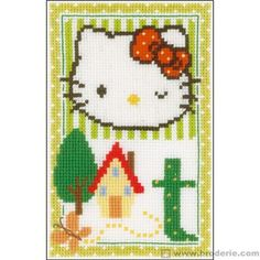 Hello kitty lettre t