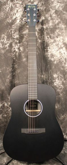 2015 Martin X Series DXAE Dreadnought Acoustic-Electric Guitar Satin Black