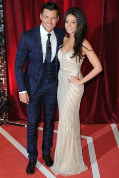 Mark Wright and Michelle Keegan at the British Soap Awards, May 18 2013
