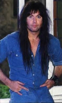 Blackie Lawless of W.A.S.P w/ promoter backstage 1982/83 ...