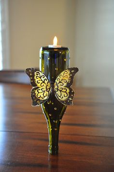 What to do with those leftover wine bottles--Wine bottle crafts
