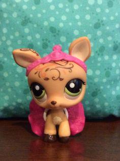 Littlest pet shop deer princess