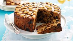 "Some Ancient Egyptians were buried with fruitcakes! But to celebrate ""Fruit Cake Day"" you can just make one of these recipes. Greek Cake, Cake Day, Cake Tins, Yummy Cakes, Afternoon Tea, Whisky, Cake Recipes, Good Food, Spices"