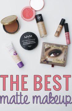 The Best Matte Makeup #beauty #makeup http://megoonthego.com/2014/06/the-best-matte-makeup/?utm_campaign=coscheduleutm_source=pinterestutm_medium=Meg%20O.%20(BEAUTY%20-%20Makeup)utm_content=The%20Best%20Matte%20Makeup