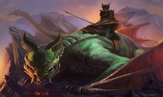 Dragon rider by ~MariusBota on deviantART