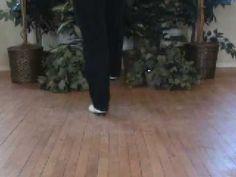 Adding Drag Slide motion to your steps - Clogging Step Practice