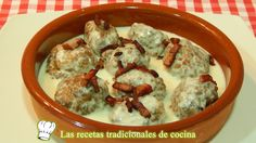 Receta fácil de albóndigas en salsa de queso - Recetas de cocina con sabor tradicional