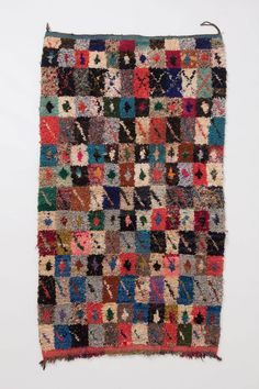 Checkered Ifni Rug - Anthropologie.com